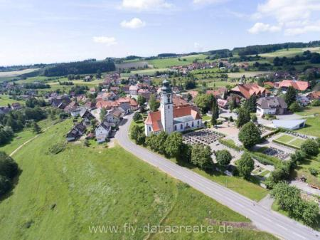 Vista aérea de Grafenhausen