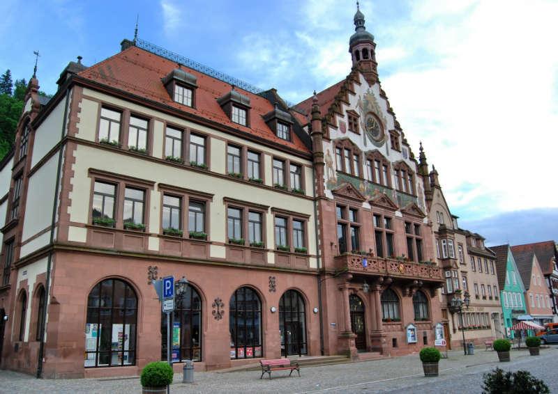Rathaus von Wolfach