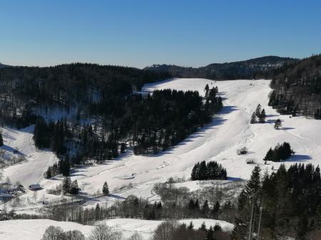 Hofeck ski lift in Bernau-Hof