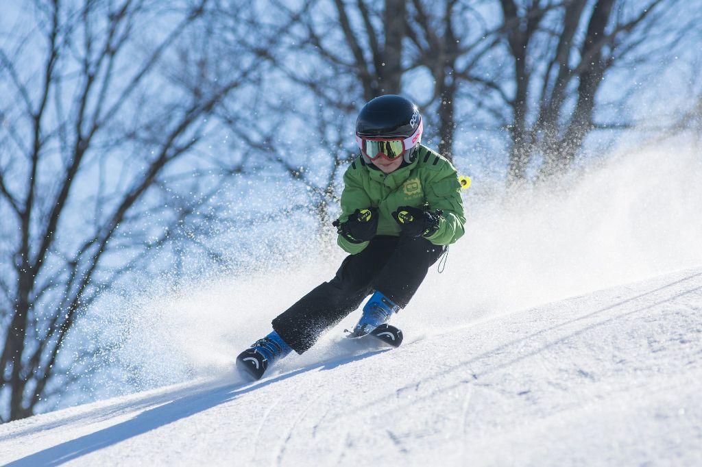 Skiers in Schonach