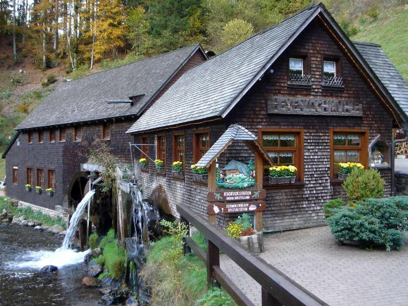 Hexenlochmühle bei Furtwangen