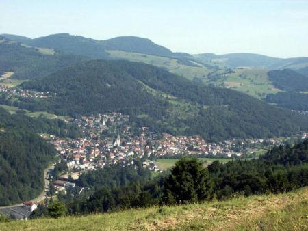 Schönau in het Wiesental
