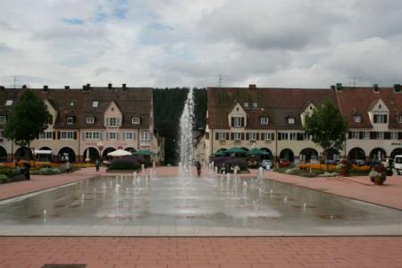 Piazza del mercato di Freudenstadt