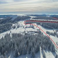 Luchtfoto van de Hinterwaldafdaling
