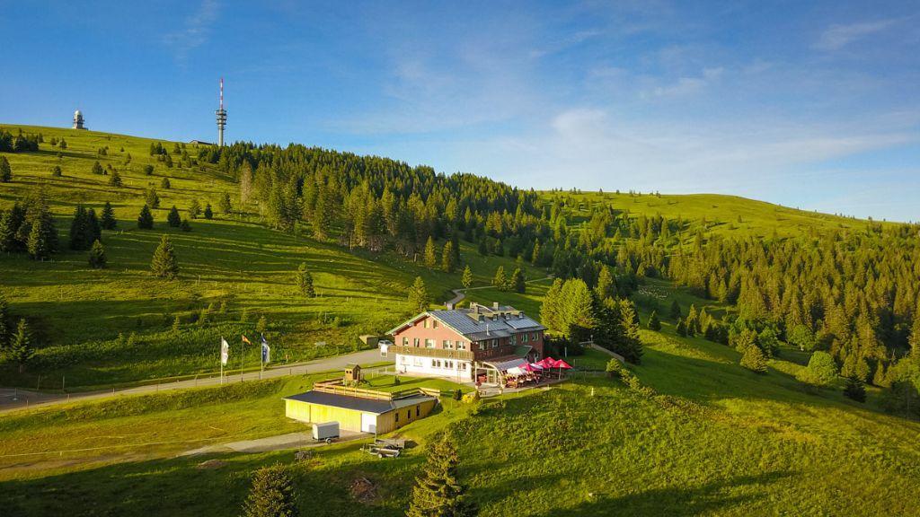 Todtnauer Hütte am Feldberg