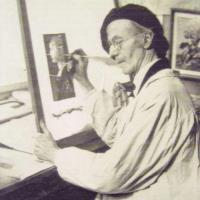 Glasmaler Georg Straub
