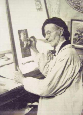 Il pittore del vetro Georg Straub