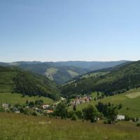 View from Muggenbrunn Upper Houses