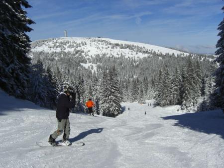 Skifahren am Feldberg
