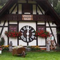 De grootste koekoeksklok ter wereld in Schonach