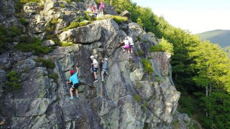 Climbing in the Black Forest
