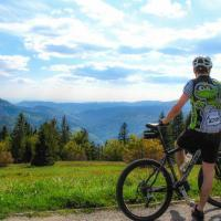 Black Forest panorama along the bike path