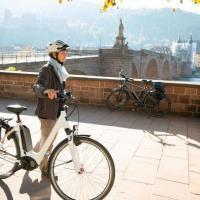 Tour start in Heidelberg