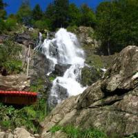 Водопад Тодтнау с шезлонгом