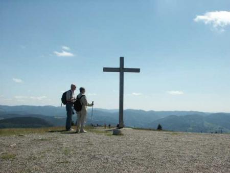 Vista sulla vetta del Belchen