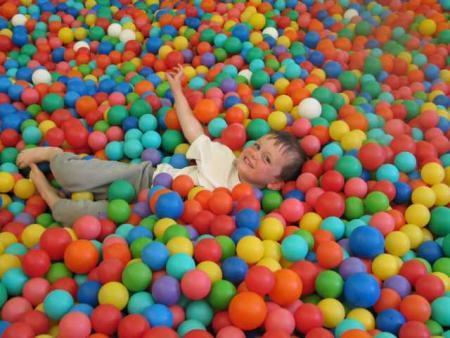 Bällebad Familienfreizeitpark Funny-World