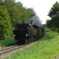 Dampfzug Kandertalbahn