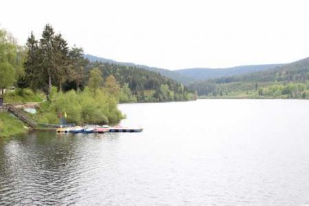 Schwarzenbachtalsperre с прокатом лодок