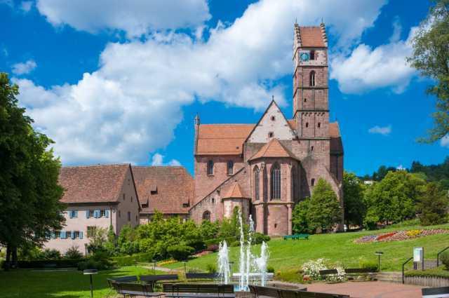 Исторический монастырский комплекс Альпирсбах