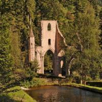 Руины монастыря Всех Святых