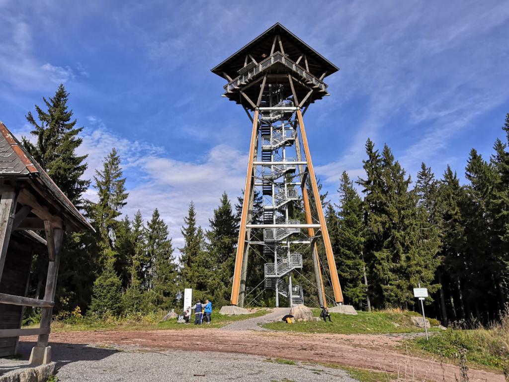 Riesenbühl tower near Schluchsee