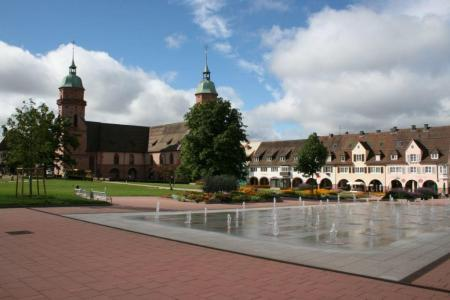 Het marktplein van Freudenstadt