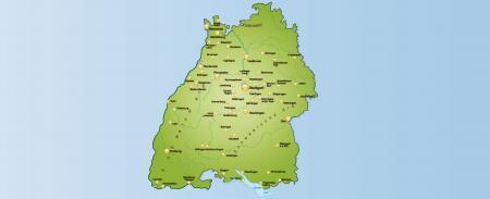 Carte de la Forêt-Noire