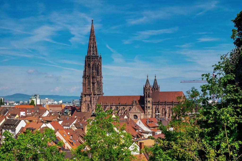 freiburg, city, münster