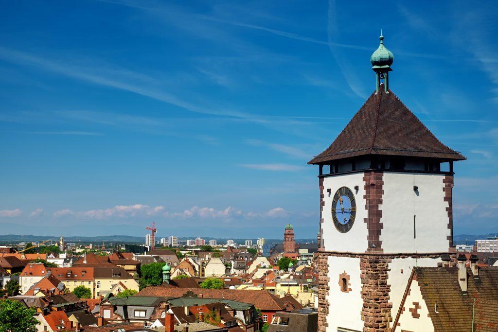 freiburg, schwabentor, city gate