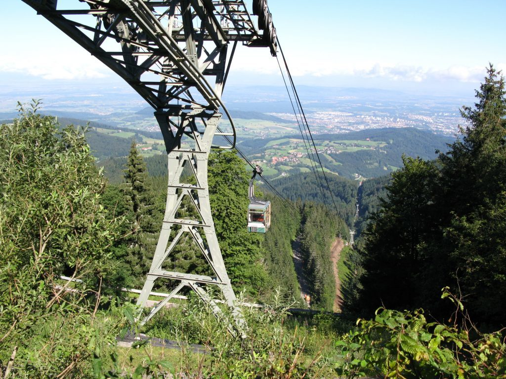 Kabelbaan naar het Schauinsland