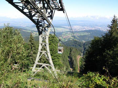 Téléphérique vers le Schauinsland