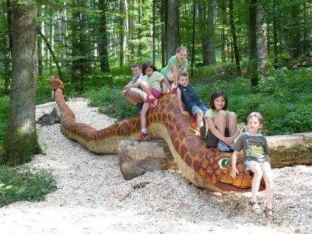 Abenteuerweg - Schlange