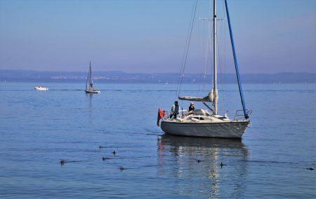 Naviguer sur le lac de Constance